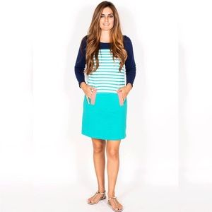 HP 🎈/TN blue stripe sweater Belle dress